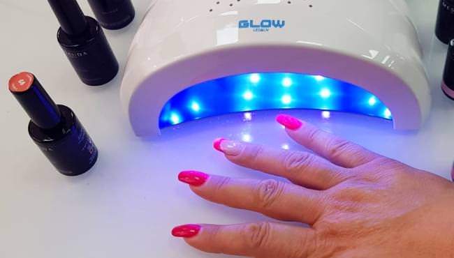 Lampada Nail Led & UV Glow + lime